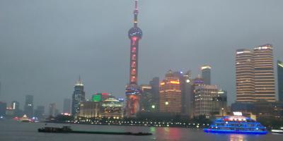 13年ぶりの上海