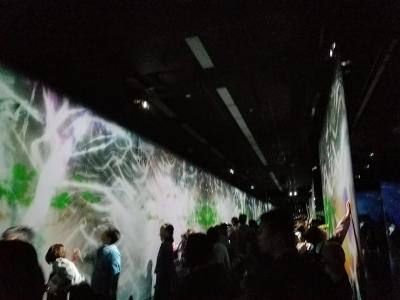 美術館へ行こう!  姫路市立美術館で開催中「チームラボ展」
