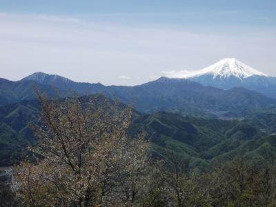 中央沿線の山旅1 百蔵山―扇山
