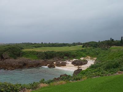 海越ゴルフをしたくて宮古島