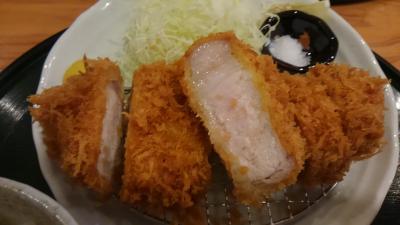 千葉県香取郡東庄町の'いなよし'に豚カツ食べに。