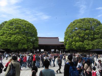 平成最後の街歩き 明治神宮・皇居二重橋・東京駅 The last town walk in the Heisei era