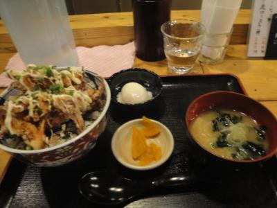 平成最後の日 31年4月30日 その2「旭川B級グルメ ゲソ丼」