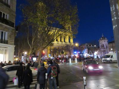 パリへ。ハルキとかおるの一週間の旅 ~夕刻のサン・ジェルマン・デ・プレを散策~