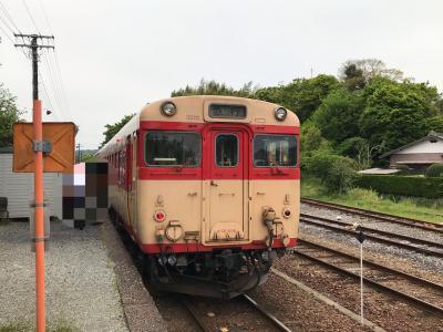 GWのショートトリップ いすみ鉄道 キハ28.52に子供の頃を思い出しました。