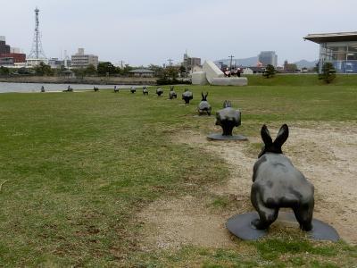 ~島根県立美術館~12羽のうさぎさんに会いに行きました♪出雲路【2】