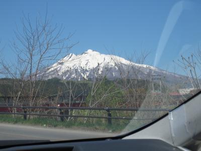 白神山地の入口と岩木山麓