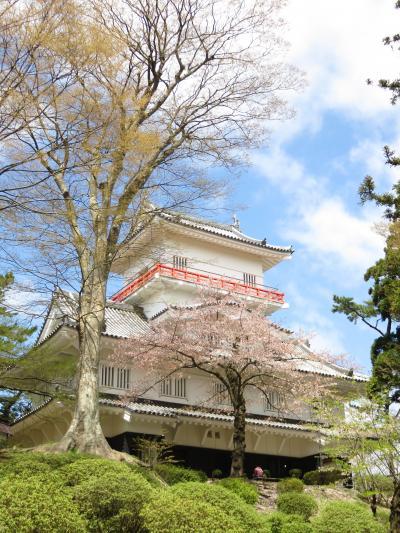 秋田満喫の旅~桜が思いのほか咲いていてお花見できました~