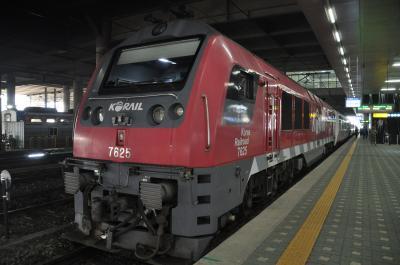 2019年春韓国鉄道旅行7(初めて乗るAーtrainでアウラジ駅へ)