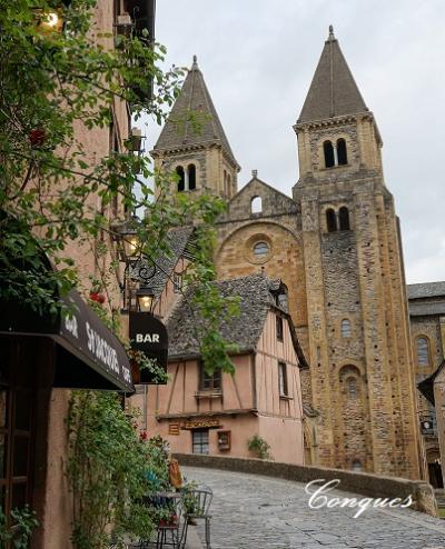 藤の花咲くフランス中南部の旅 vol.2 ~やっと出会えた、山深きコンク村~
