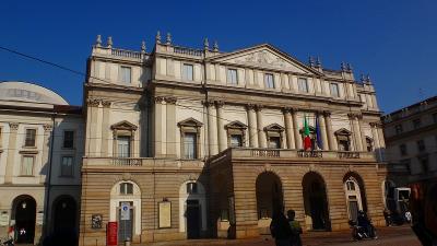 ゆったりミラノ滞在の旅(04) スカラ座博物館見学。