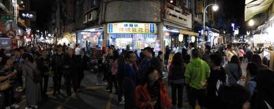 台北3、士林夜市へ。