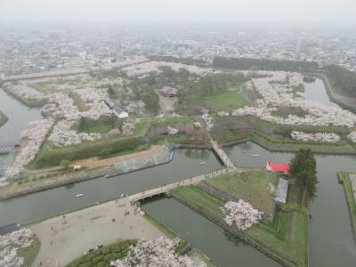 2019GW 東北・北海道旅行記 8.五稜郭、森・オニウシ公園
