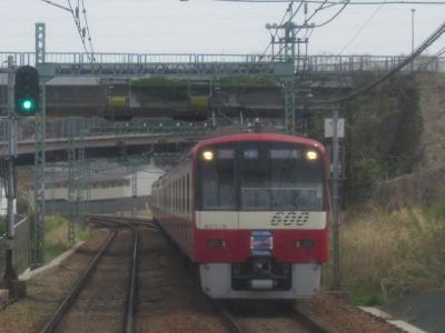 京急三崎口へ展望席の旅(4)上大岡ー金沢文庫
