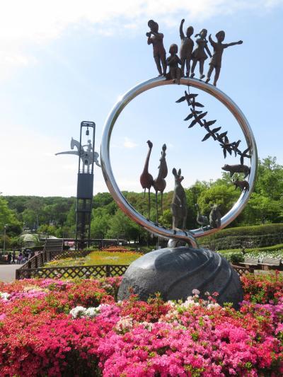 平成最後のレッサーパンダ動物園はGWの埼玉こども動物自然公園(1)初夏の花とランチと森の教室のカンガルー博物館