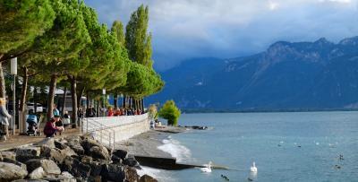 スイス鉄道の旅 Part 2 - モントルーとチョコレートトレイン