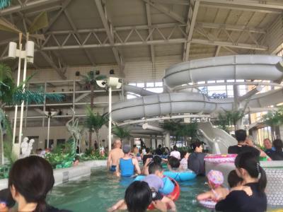 日帰り☆2歳10ヶ月子連れ GW後半 龍宮城ホテル三日月スパ&プール