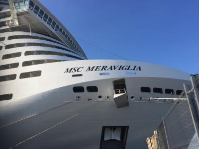 MSCメラビリア2日目~マルセイユ