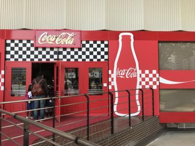 楽しかった~コカコーラ工場見学