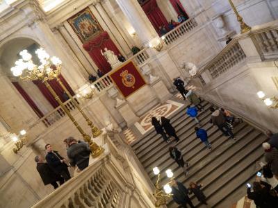 '18-'19 スペイン15 : スペイン編最終回。マドリード王宮見学後バルセロナへ戻りモスクワへ