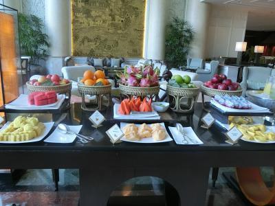 旅行大好き!12歳と9歳の子連れの旅☆タイ・バンコク2日目シャングリラバンコク リバーサイドラウンジの朝食