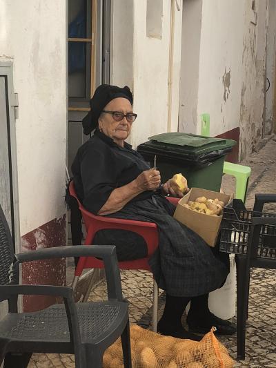 【スペイン・ポルトガルの旅】7.ナザレでイワシの塩焼きを