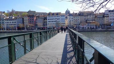 ゆったりミラノ滞在の旅(10) スイス・チューリヒの街歩き 上巻。