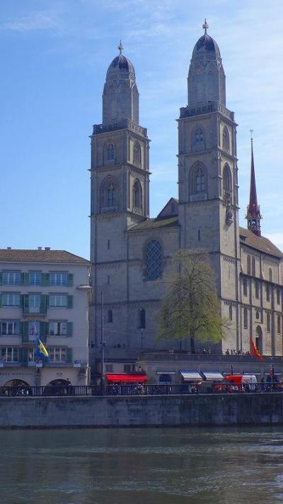 ゆったりミラノ滞在の旅(11) スイス・チューリヒの街歩き 下巻。