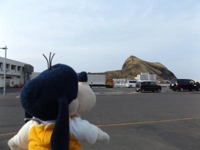 グーちゃん、利尻島へ行く!(感動!ペシ岬からの絶景!編)