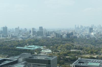 春のアマン東京♪ Vol.1:スイートルームから平成最後の皇居を眺めて♪