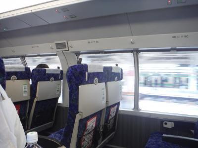 上野東京ラインのグリーン車で横浜ぶらり