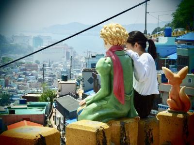 釜山初心者旅その1 西面~甘川文化村~チャガルチ