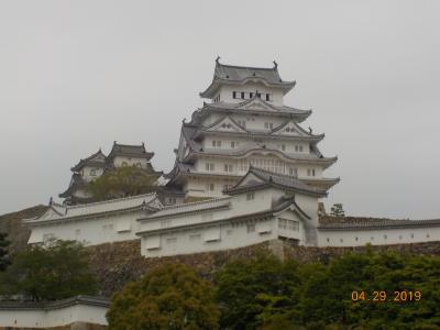平成最後は念願の姫路城から大阪へ(前編)