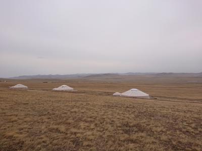 5月緑じゃないけど広大草原~☆モンゴル(HSハーンリゾート)旅