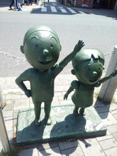 サザエさんと桜の街&いらか道、世田谷散策