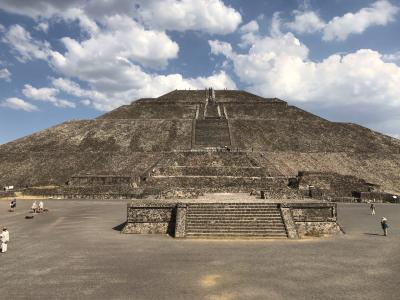メキシコ1(メキシコシティ~ティオティワカン)