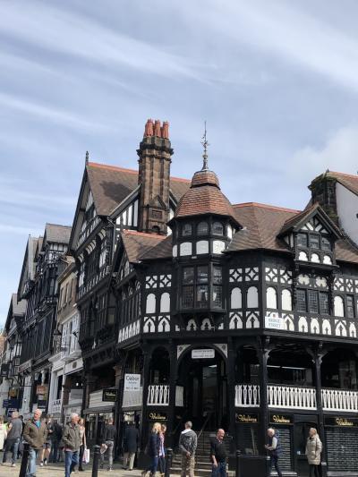 イギリス旅行その4 木組みのかわいらしい街チェスター