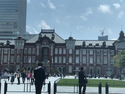 2019GW 東京散策 ~東京スカイツリー&水上バス&お台場&新宿つな八の天ぷら~