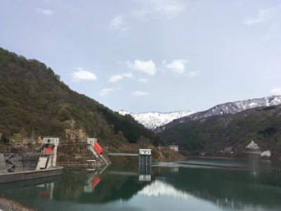 春の新潟1~奥清津発電所、三国川ダム