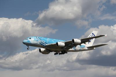 成田でカメを撮る!ANAのA380慣熟飛行撮影をメインに飛行機を楽しむ。
