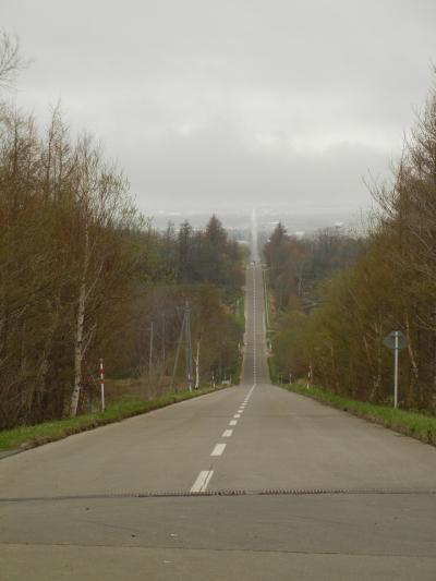 ゴールデンウィーク道東旅行⑤オシンコシンの滝・天に続く道