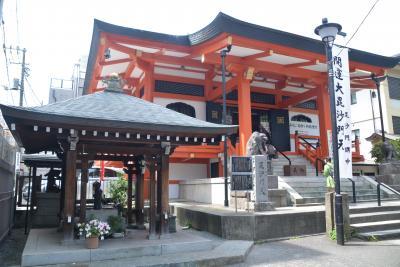 東京散歩 神楽坂の赤城神社・毘沙門天 善國寺・須賀神社を経て四谷駅まで歩きました。