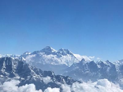 GW・ネパール9日間の旅① 憧れのエベレストとご対面