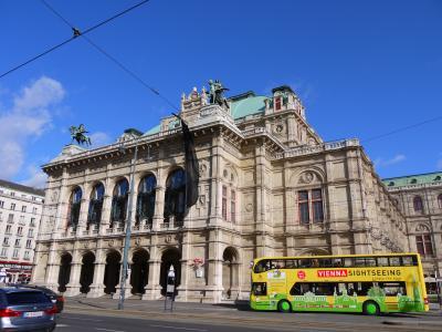 早春のオーストリア&チェコ2人旅 珠玉の4つの街を巡る5泊7日+ おまけの1Day台北 (11)RJでウィーンへ!朝ごはんからスタート