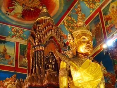 2015 JAN 出張の合間のプノンペン巡り(後)王宮・寺院巡り