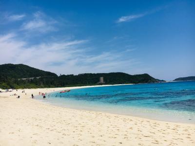 充実サイクリング、シュノーケル→那覇ハーリー、島唄!