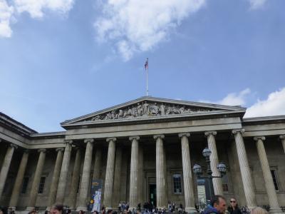 イギリス旅行その8 ロンドン1日目 大英博物館は凄かった
