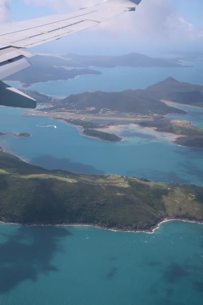 海と大地を満喫!6泊9日 オーストラリア旅行 ~出国・ハミルトン島1日目~