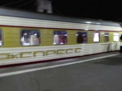 2019.05 ロシア② 夜行列車でサンクトペテルブルクへ行く!