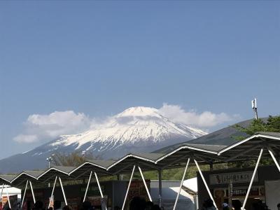 富士スピードウェイでのスーパーGT観戦と山中湖一周サイクリング